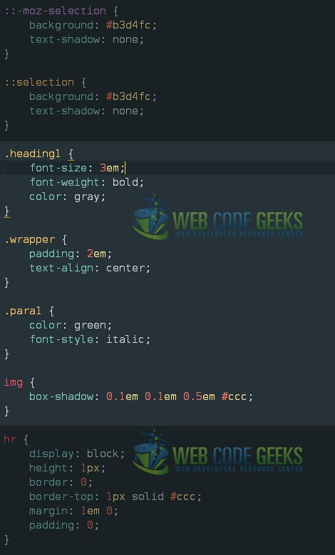 Editing the Default main.css of HTML5 Boilerplate