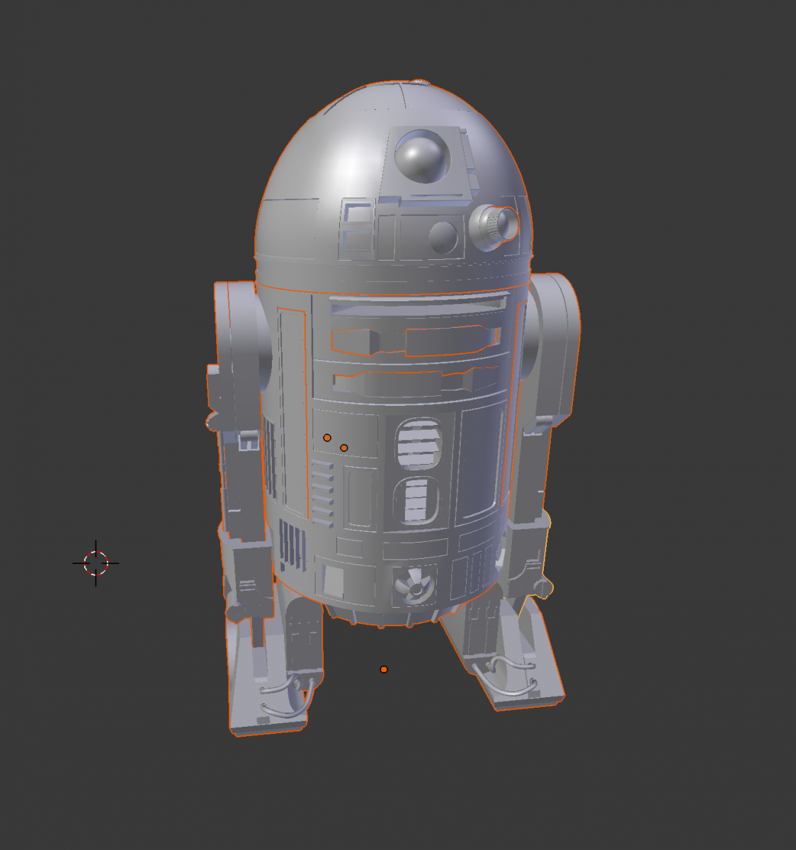 Render 3D Star Wars: The Force Awakens models in Blender and Three