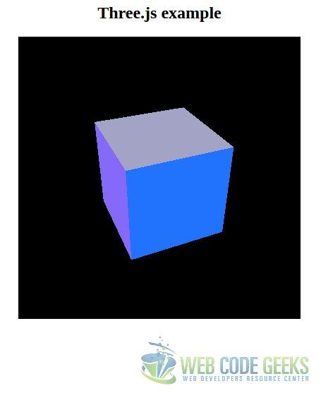 HTML5 3D Canvas Tutorial   Web Code Geeks - 2019