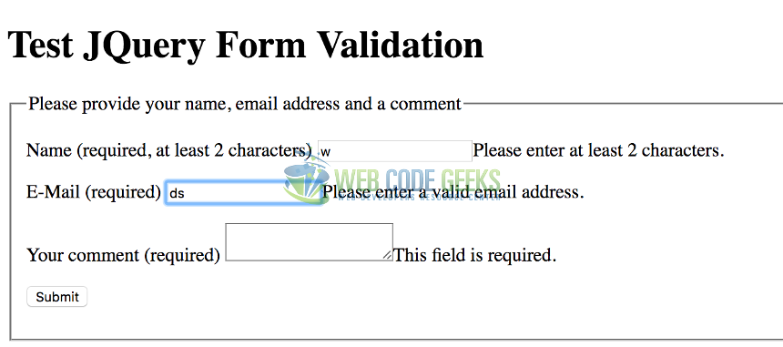Laravel 5. 3 form input validation rules example with demo.