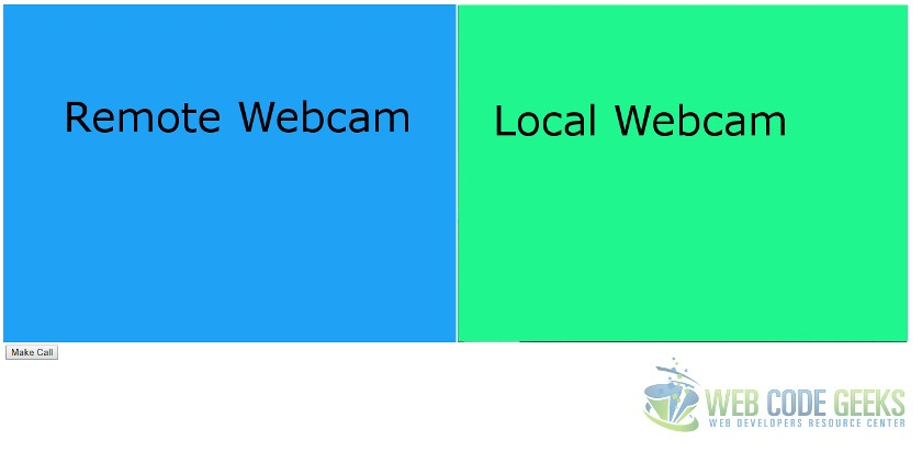 WebRTC Tutorial for Beginners | Web Code Geeks - 2019