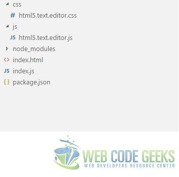 HTML5 Text Editor Example | Web Code Geeks - 2019