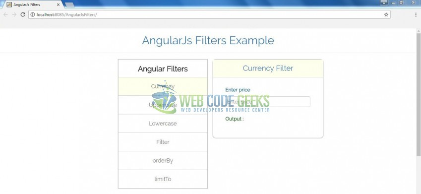Fig. 7: Angular Filters