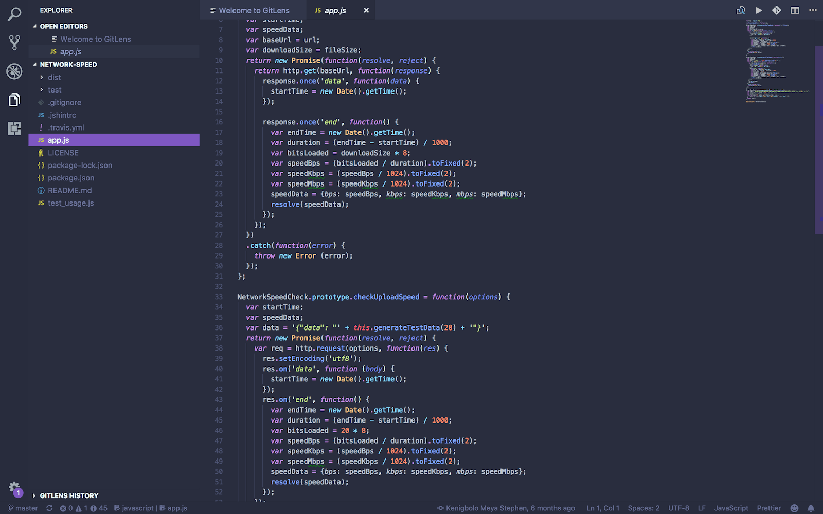 vs code Material Palenight