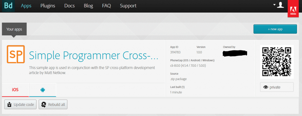 cross platform development prebuild