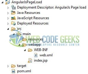 AngularJS Call Function on Page Load - Application Project Structure