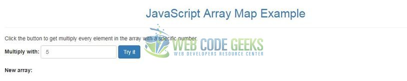 JavaScript Array map() - Index page