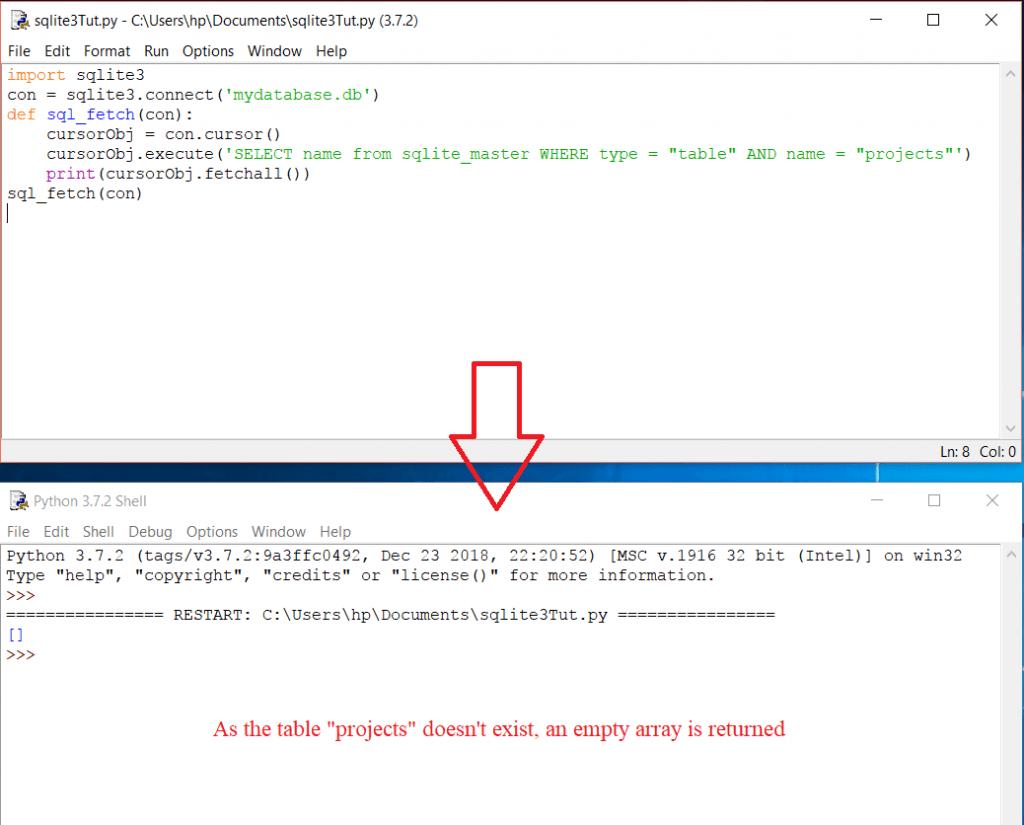 Python SQLite3 Tutorial (Database Programming)   Web Code