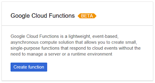 Google Cloud Functions